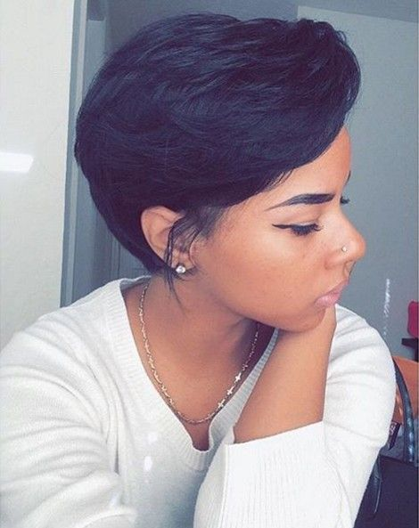 Latest Black Hairstyles for Short Hair