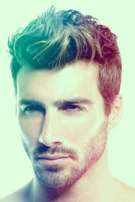 Mens Hairstyles Long Top Short Sides