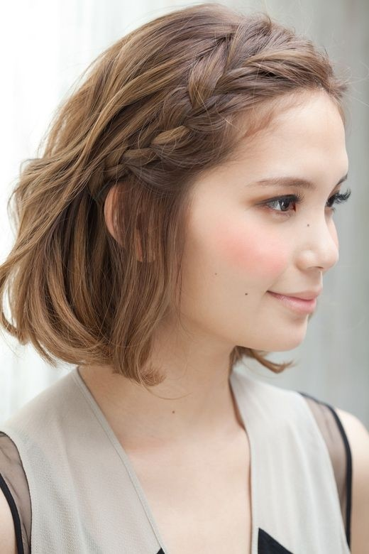 New Braided Hairstyles for Short Hair