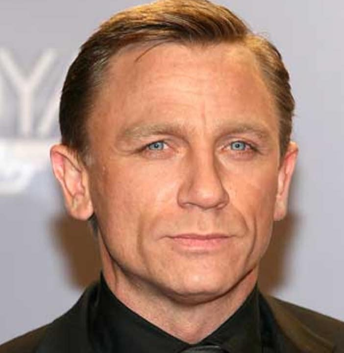 Popular James Bond Hairstyle