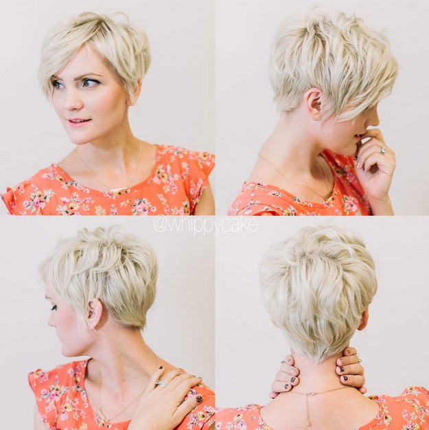 Short Layered Hairstyles for Women Over 30 40