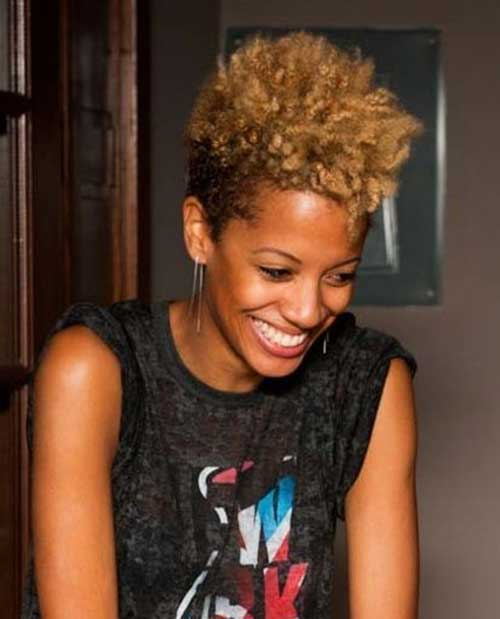 Short Natural Mohawk Hairstyles For Women