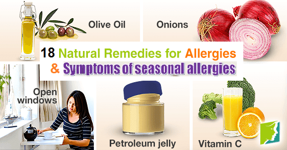 18 Home Remedies for Allergies