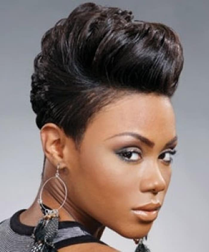 Short African American Hairstyles For Women
