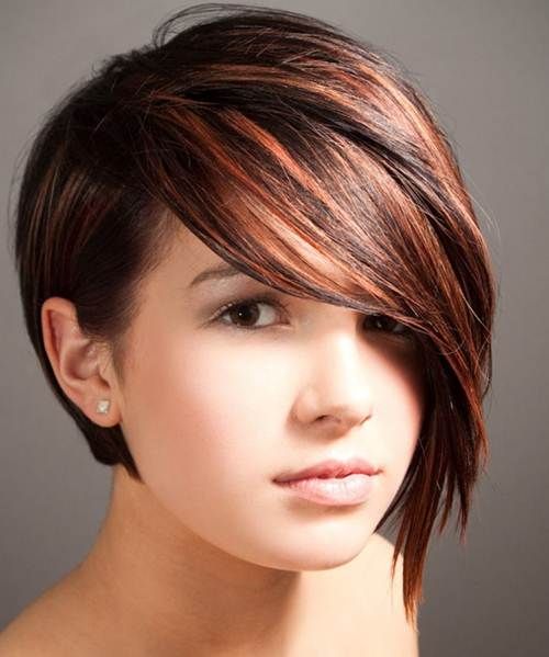 Short Hairstyles for Oval Faces 2017-18