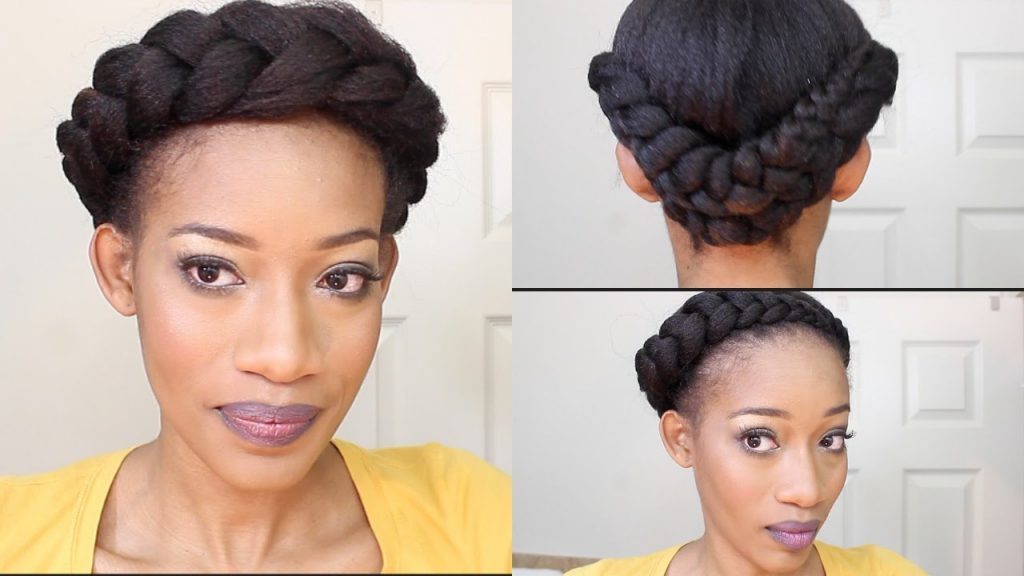 The Bouffant hairstyle for natural hair