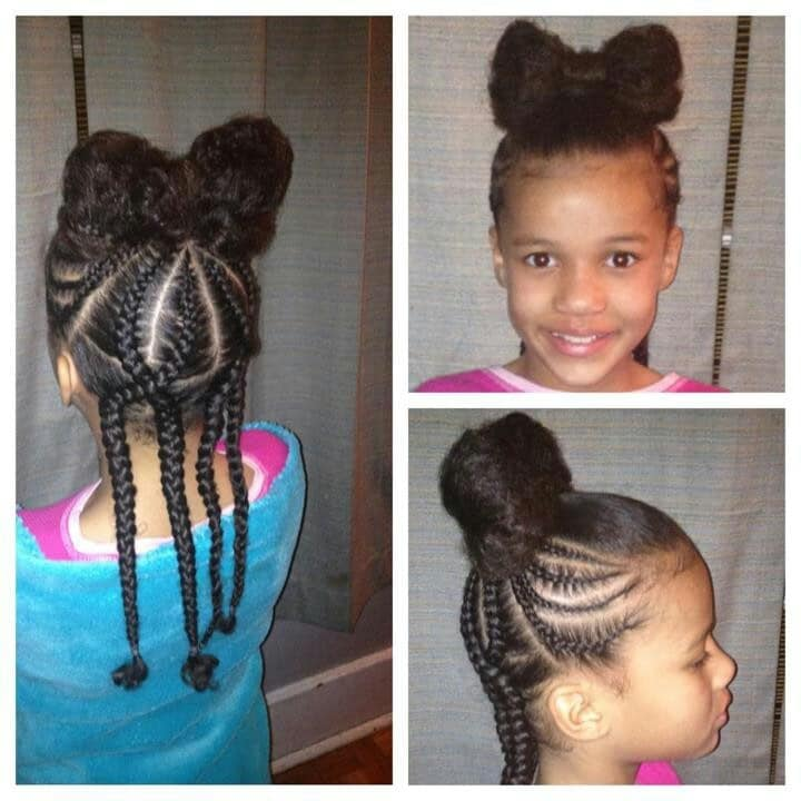 The hairstyle for natural hair - Hair Bow