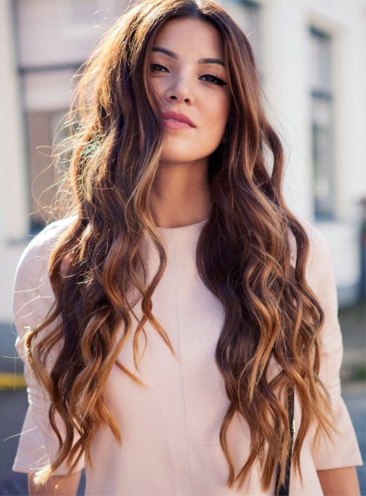 Amazingly Beautiful Long Curly Hairstyles 2017-18
