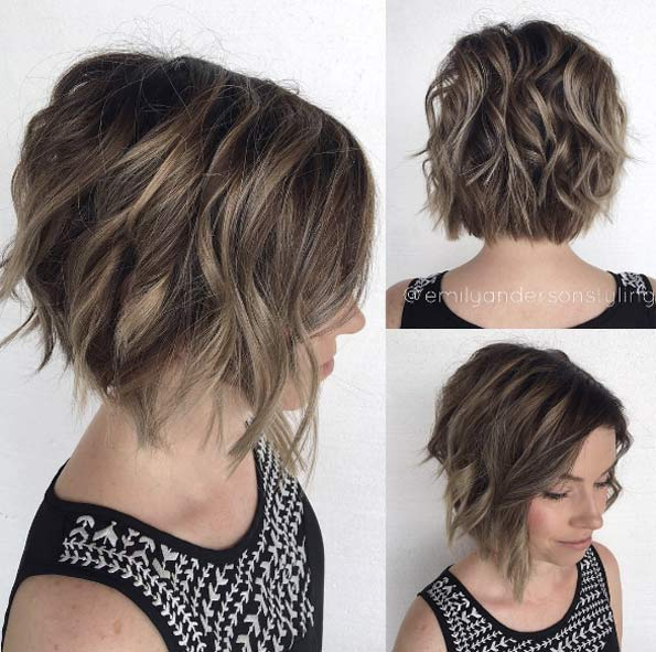New  Short Haircuts and Hairstyles for Thick Hair