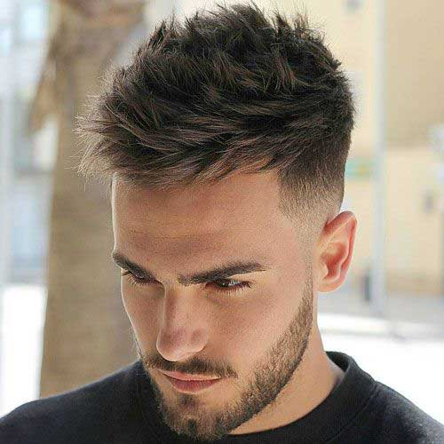 Top Men's Short Hairstyles for Thick Hair