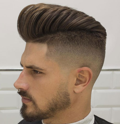Pompadour Hairstyles and Haircuts