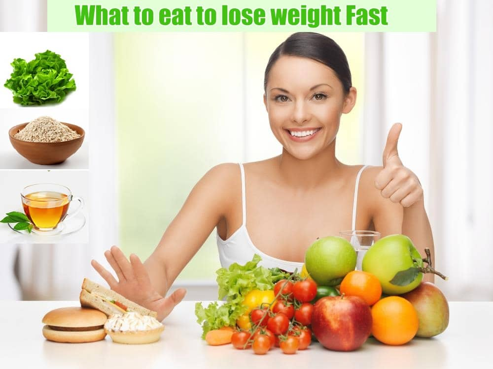 What to eat to lose weight