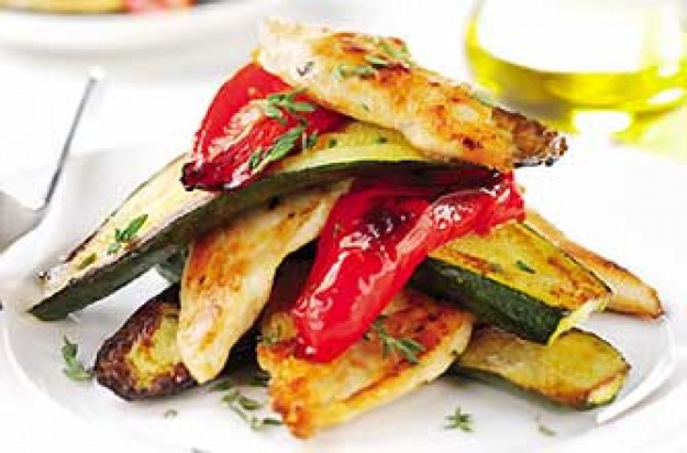 Chicken Fillets with Peppers