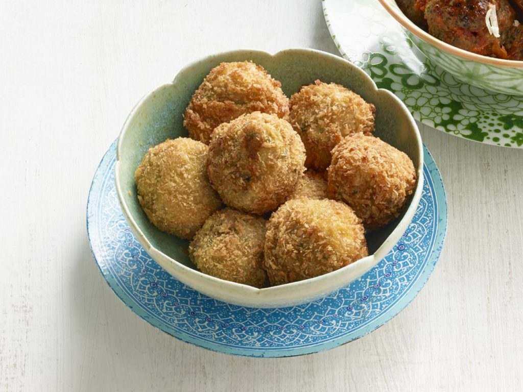 Fish Meatballs with Carrot Strips