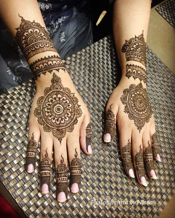 Best Bridal Henna Designs Ideas 2018