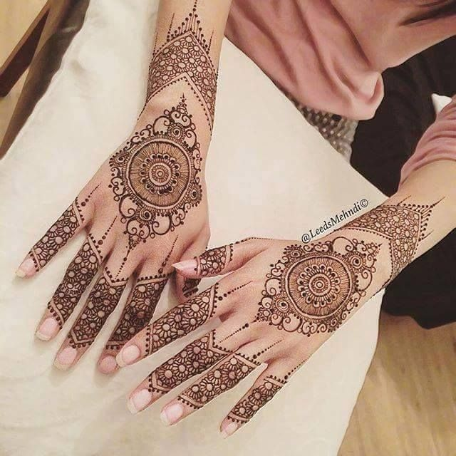 Bridal Mehndi Designs 2018 - Mehandi Designs for Pakistani Brides