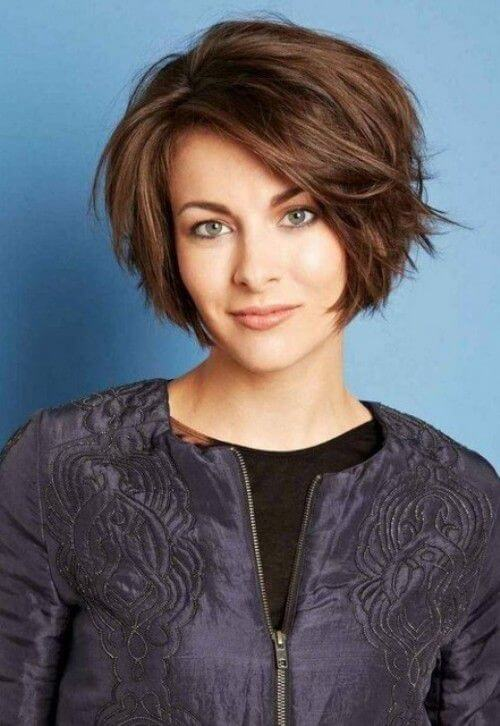 15 Classy Short Layered Haircuts For Thick Hair 2019